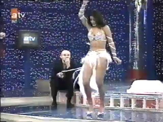 Turkish Belly Dance ,Tanyeli in white